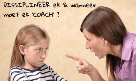 Wen 'n plek in ons Coaching Parent kursus ter waarde van R4200! – Kompetisie reeds gesluit