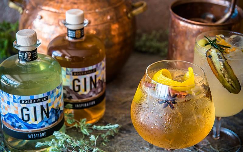 Wen 'n kas Bossieveld™ Craft Gin ter waarde van R2940!