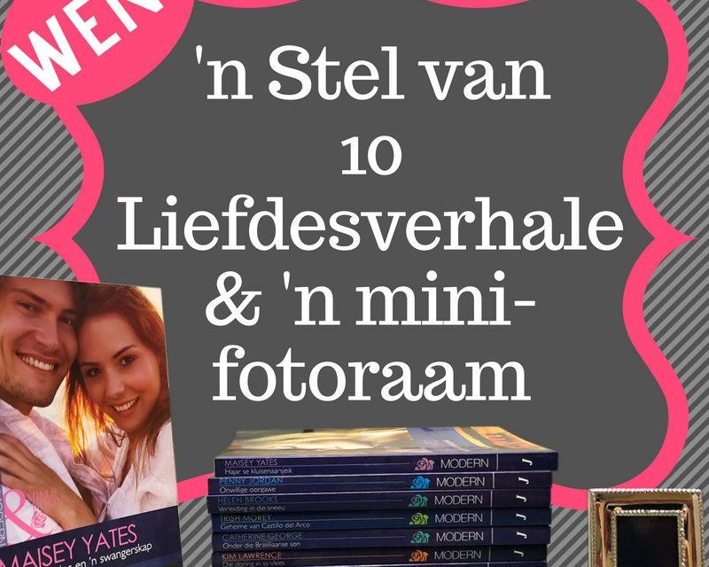 WEN 'n stel van 10 liefdesverhale & 'n mini-fotoraam! – Kompetisie reeds gesluit