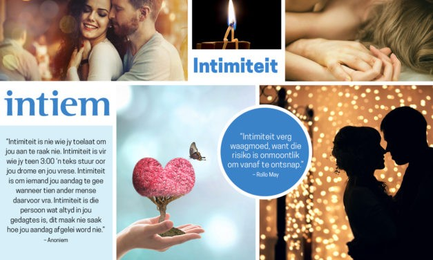 Maand Tema: Intimiteit
