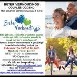 Wen kaartjies na die Beter Verhoudings Couples' Oggend! – Kompetisie reeds gesluit!