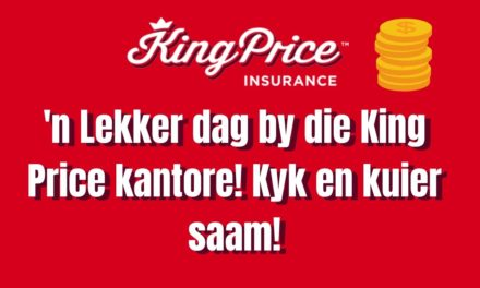 Ons vang geld, speel tafel tennis en leer oor motorkaping by King Price!