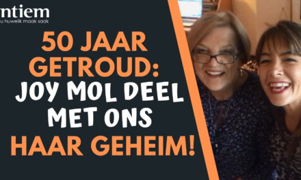 50 Jaar Getroud: Joy Mol Deel Met Ons Haar Geheim!