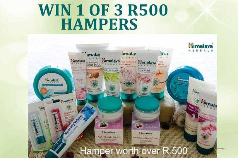Wen 1 van 3 Himalaya Herbals geskenkpakke ter waarde van R500 elk! – Kompetisie reeds gesluit