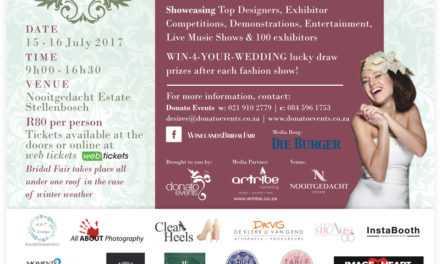 Wen 1 van 2  dubbel-kaartjies na die Winelands Bridal Fair – Kompetisie reeds gesluit