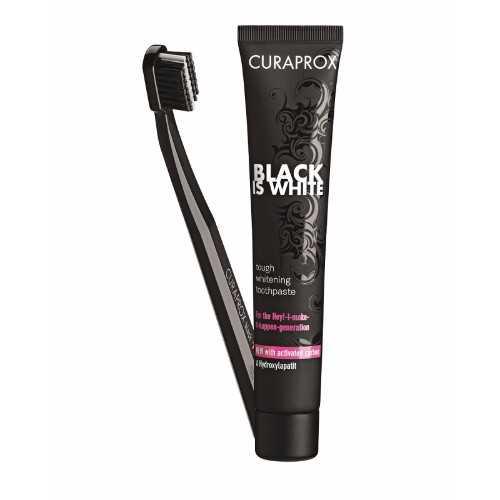 """Wen 1 van 3 """"Black is White"""" tandepasta en tandeborsels ter waarde van R350 elk! – Kompetisie reeds gesluit"""