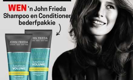 Wen 'n bederfpakkie van John Frieda met Shampoo en Conditioner! – Kompetisie reeds gesluit