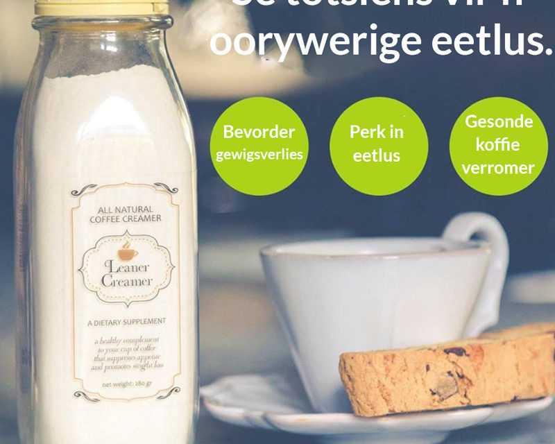 Wen 1 van 10 bottels Leaner Creamer ter waarde van R395! – Kompetisie reeds gesluit