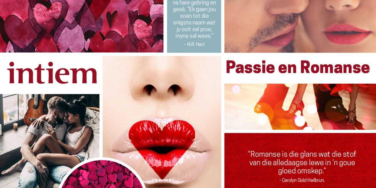 MAAND TEMA: PASSIE EN ROMANSE