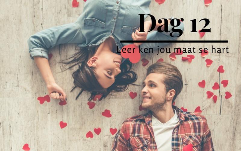 21 dae tot 'n gelukkige huwelik: Dag 12