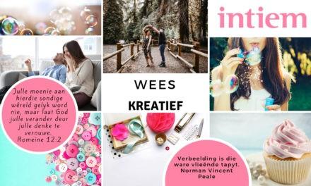 Maand Tema: Wees Kreatief!