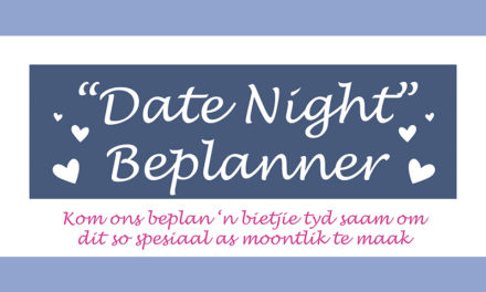 "GRATIS: ""Date Night"" Beplanner"