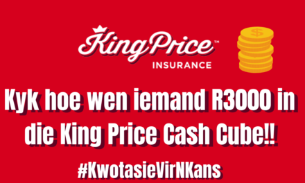 #KwotasieVirNKans wenner wen R3000 kontant! Is jy volgende?