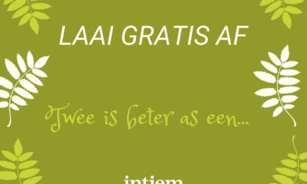 GRATIS: Twee is beter as een 'printable'