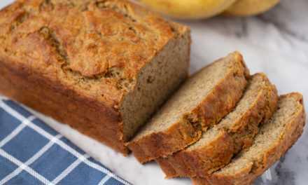 Vinnige, maklike piesangbrood